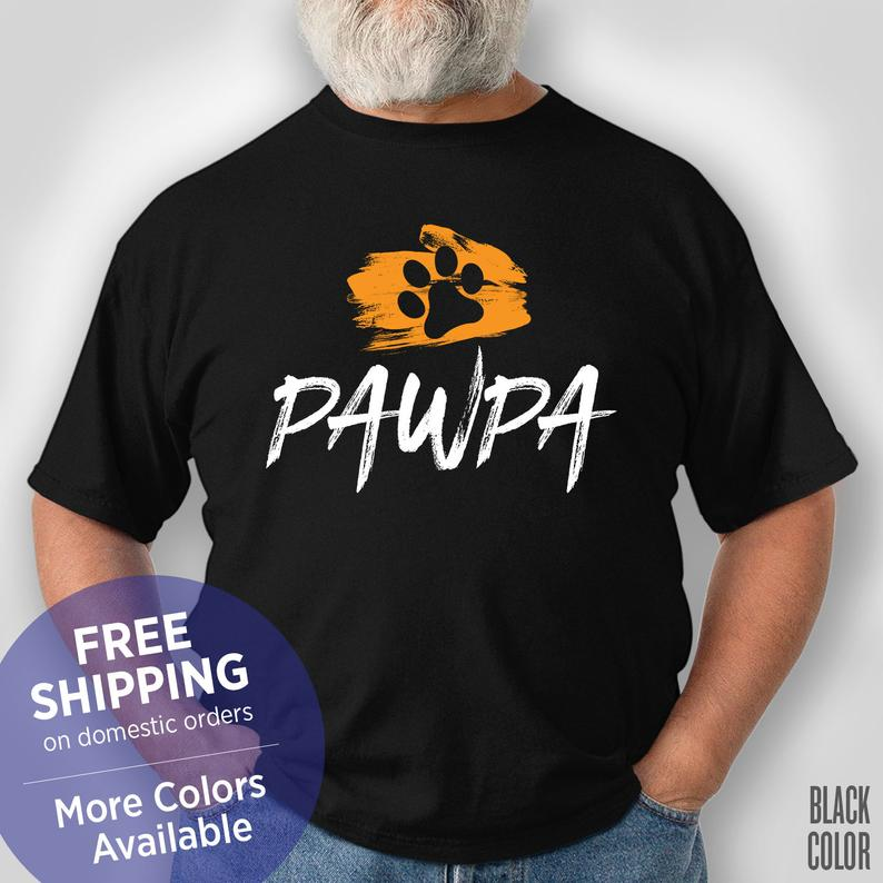 Pawpa Grandpa - Dog Grandpa - Fur Grandpa - Funny Shirt - Grandpa Birthday Gift - Grandpa Christmas Gift #grandpabirthdaygifts