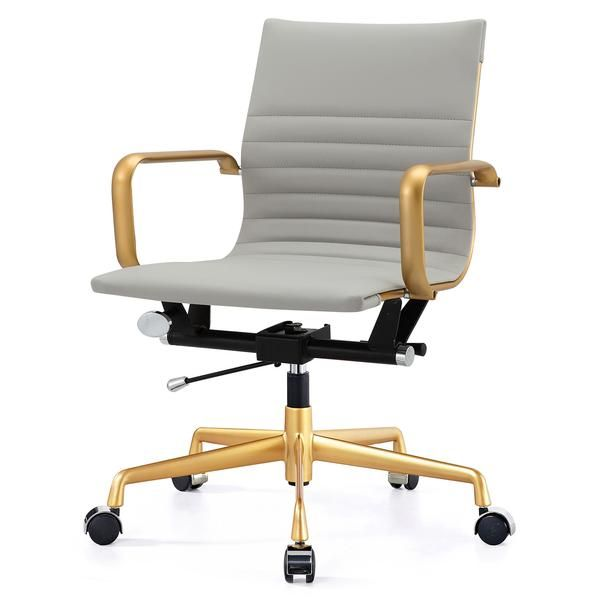 Outstanding M348 Office Chair In Vegan Leather Chrome Navy New Pabps2019 Chair Design Images Pabps2019Com