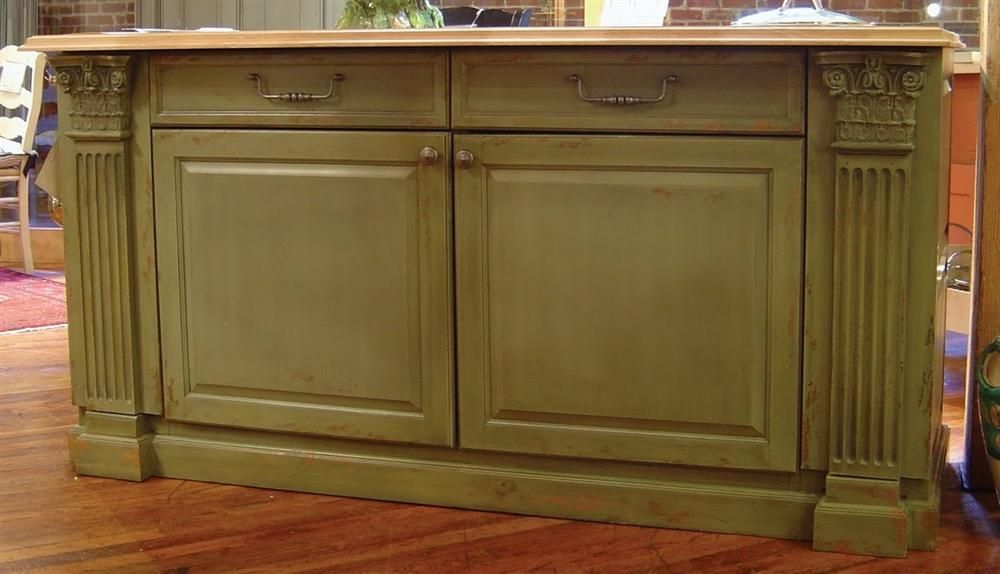 Marvelous 5 Ft. Wide Mayfair Country Kitchen Island