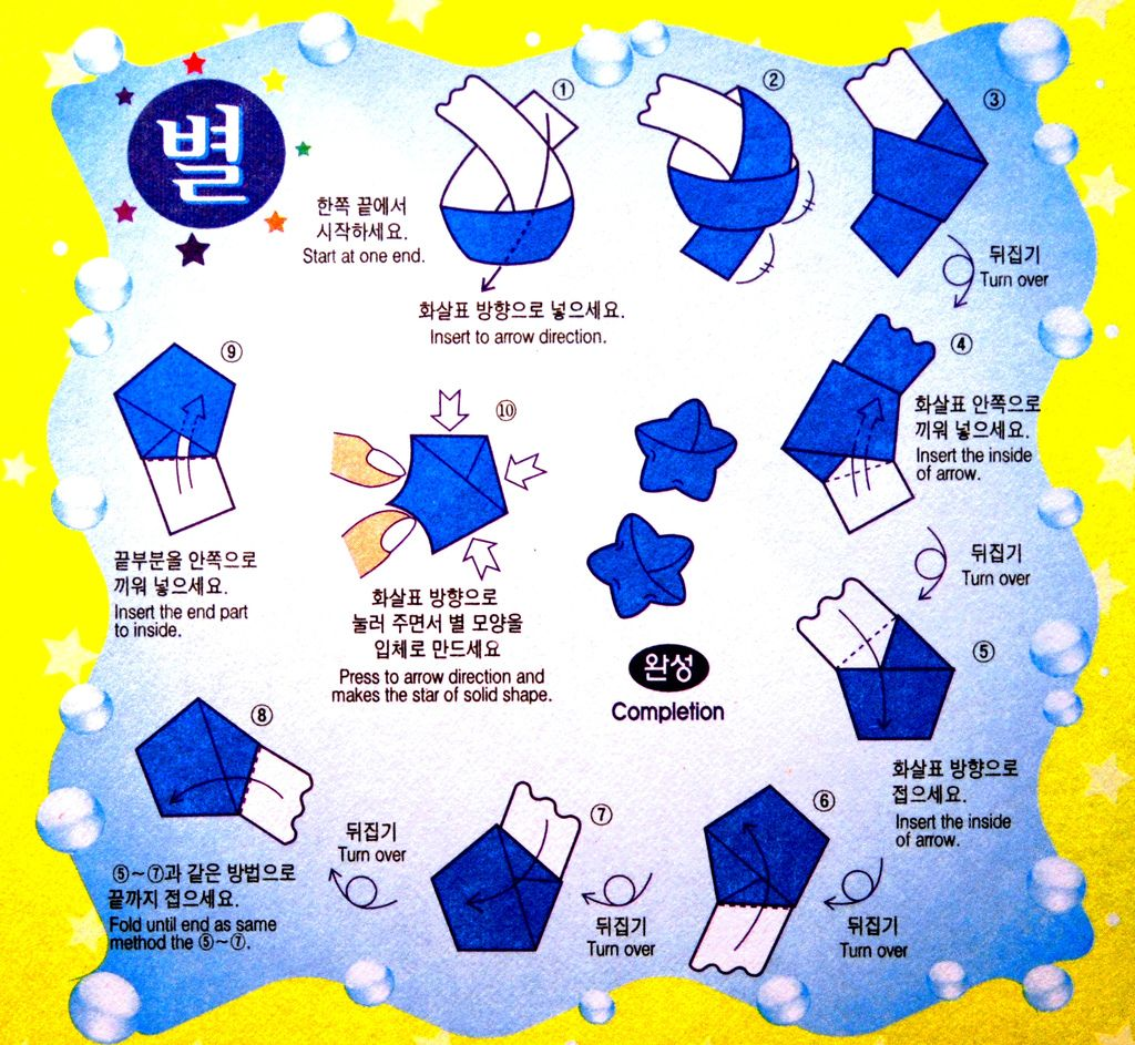 Chinese lucky star instruction origami pinterest lucky star how to fold origami lucky star cute mammoth jeuxipadfo Choice Image