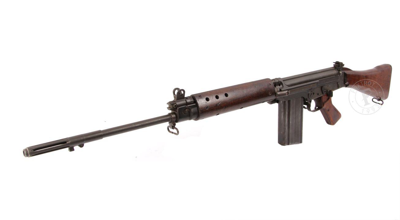 FN FAL , MODEL: L1A1 LITHGOW , CALIBER : 7.62 X 51