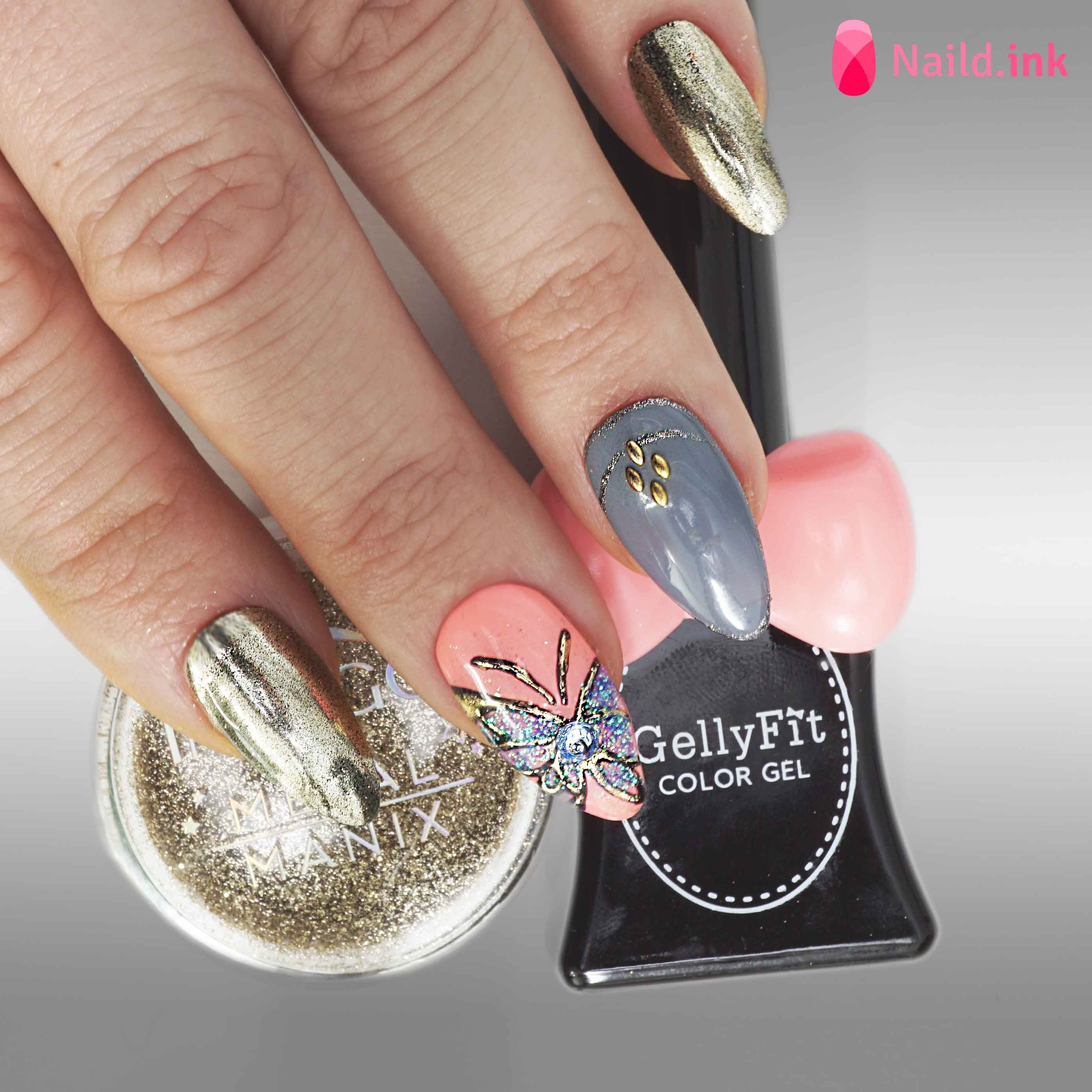 Pin by Naild.Ink on GellyFit SA Designs | Pinterest | Trendy nail ...