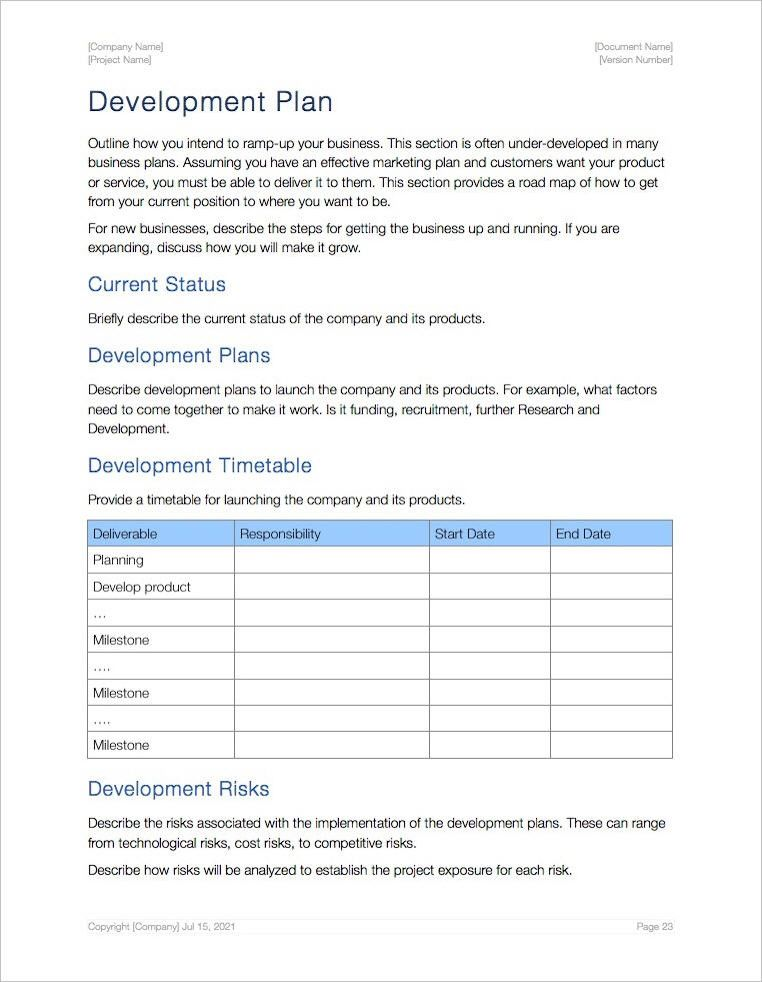 Apple Pages Business Plan Template from i.pinimg.com
