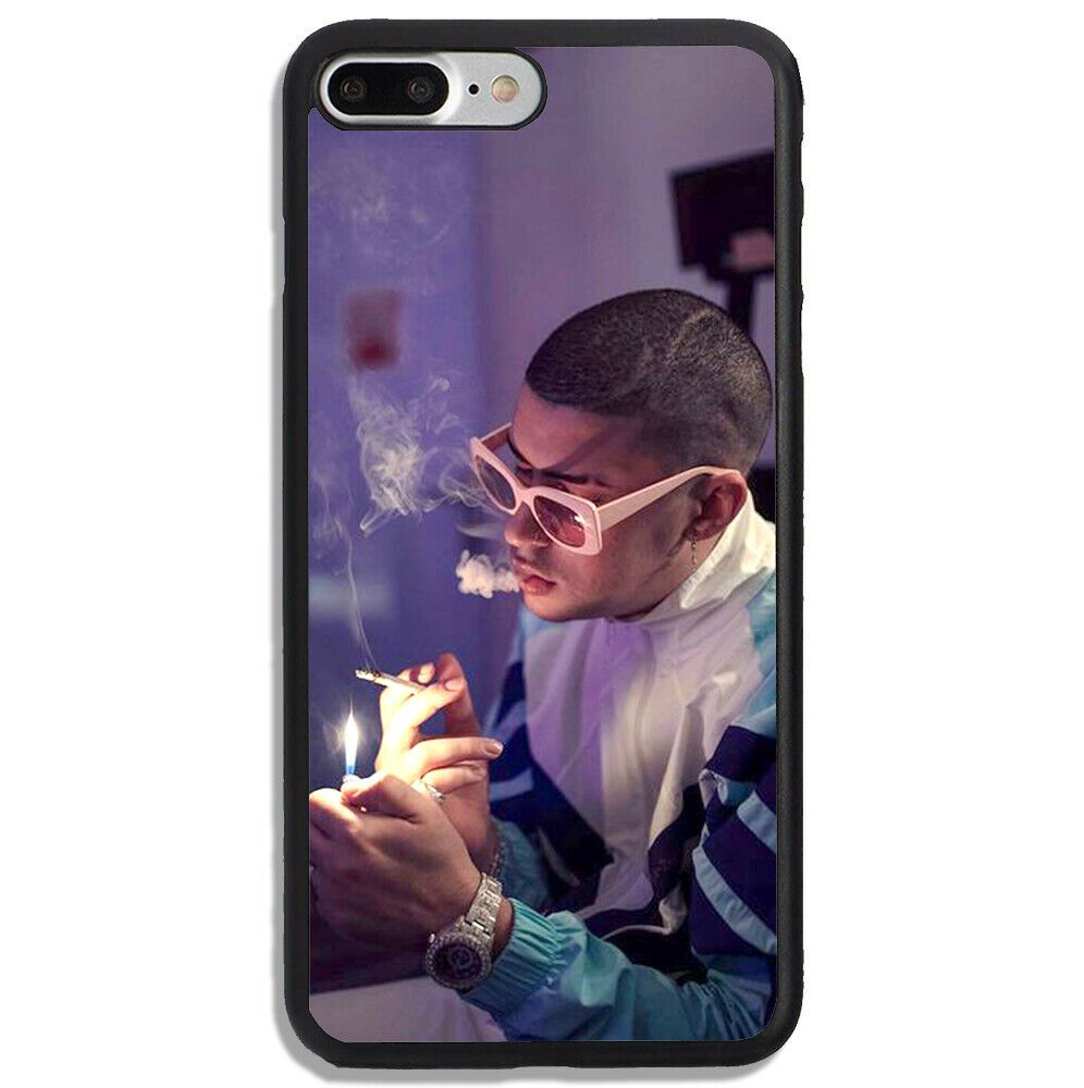 Best Bad Bunny Wallpaper Rapper iPhone 7 Plus Hard Plastic