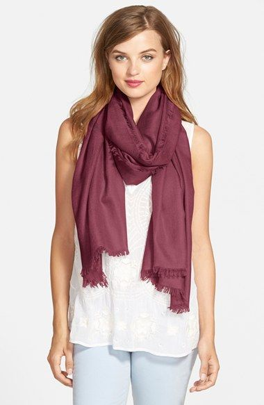 Nordstrom Cashmere & Silk Wrap available at #Nordstrom