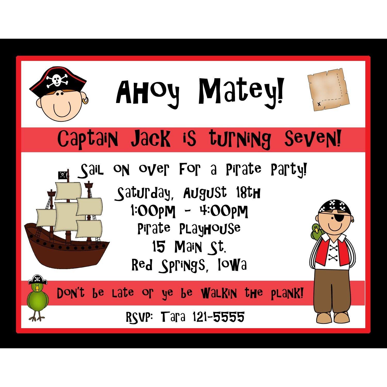 Captain Jackson!   Birthday Party Themes   Pinterest   Birthday ...