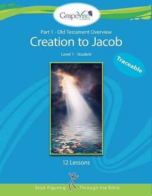 Level 1 Part 1: Creation to Jacob Traceable Student Grapevine Bible Study