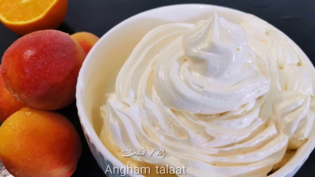 طريقة عمل كريمة الزبدة الأمريكية Angham Talaat Peanut Butter Desserts Food