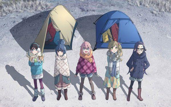 Image result for Yuru Camp anime pinterest