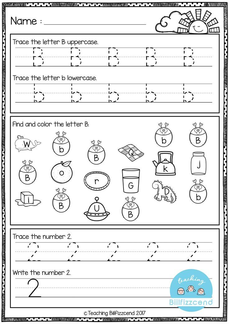 FREE Kindergarten Morning Work. Inside you will find 12 pages FREE ...