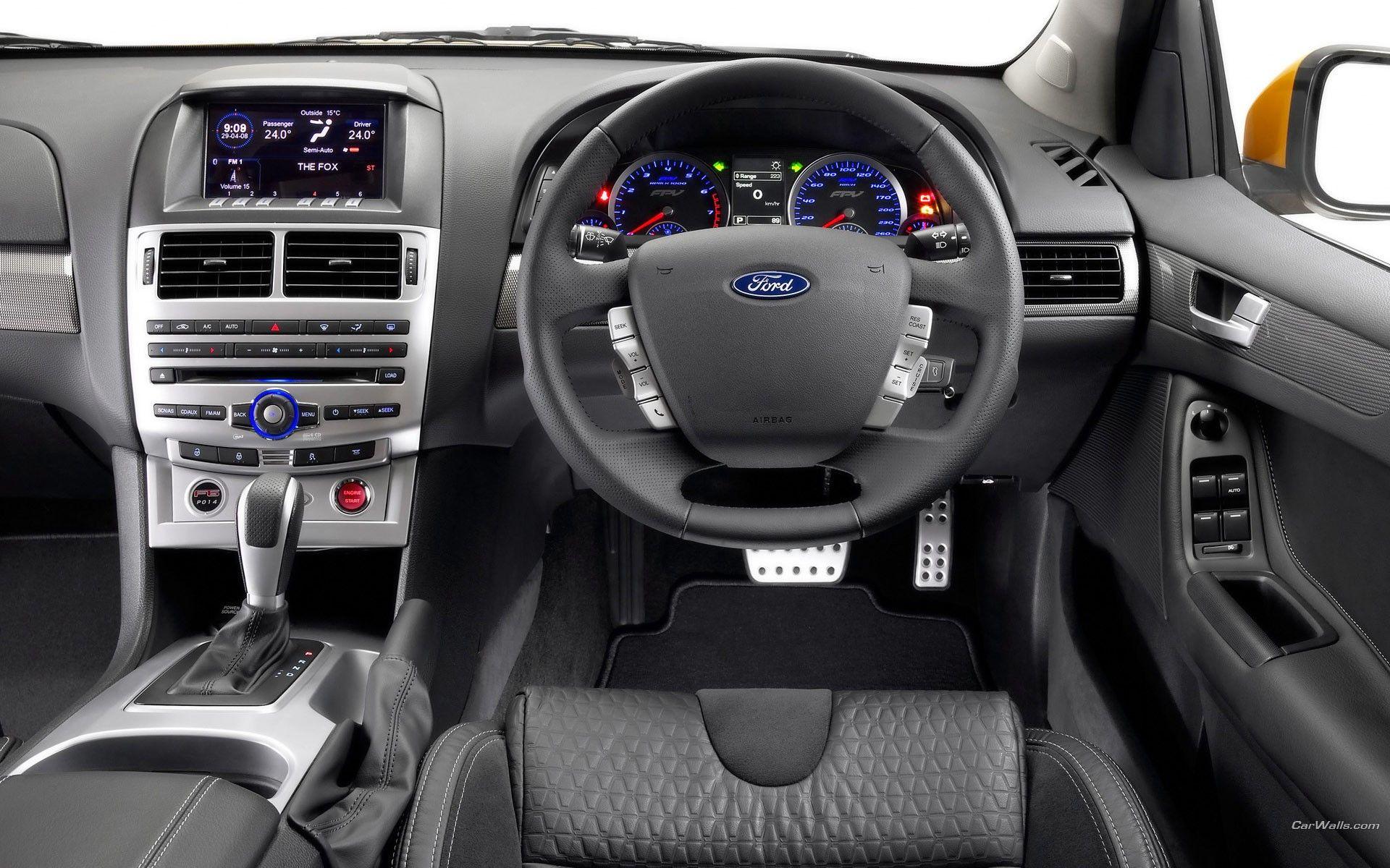 Interior Aussie Muscle Car Fpv Ford Australia Falcon Interiors Cars