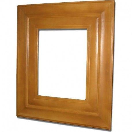 RESINA MARCO POLIURETANO Marco realizado en resina de poliuretano, material muy resistente y ligero que se puede decorar igual que la madera.