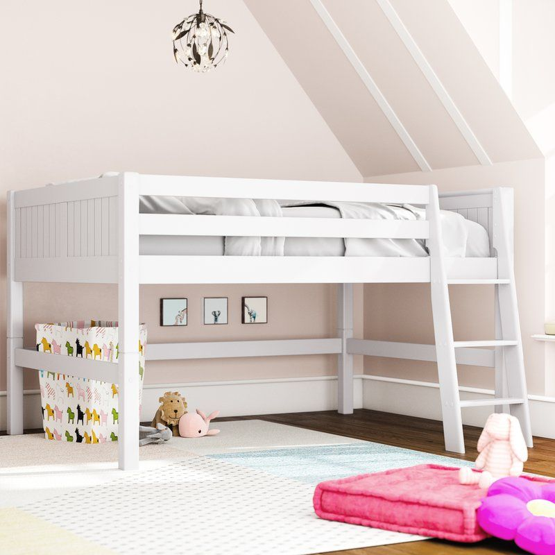 Oakwood Full Low Loft Bed Low Loft Beds Low Loft Beds For Kids