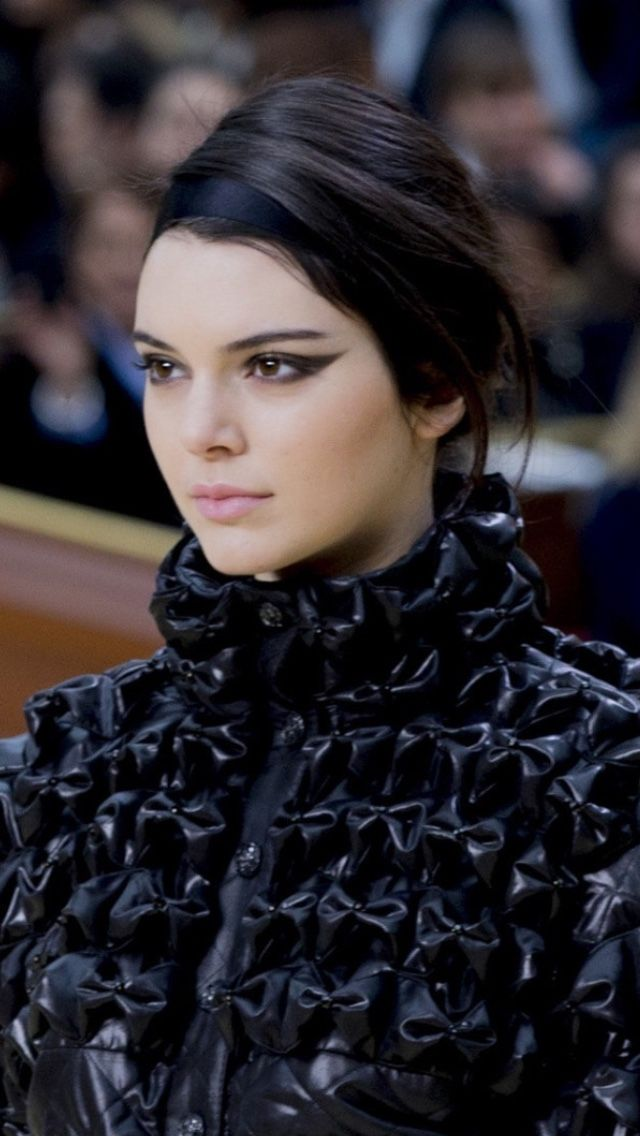 Kendall walking for Chanel