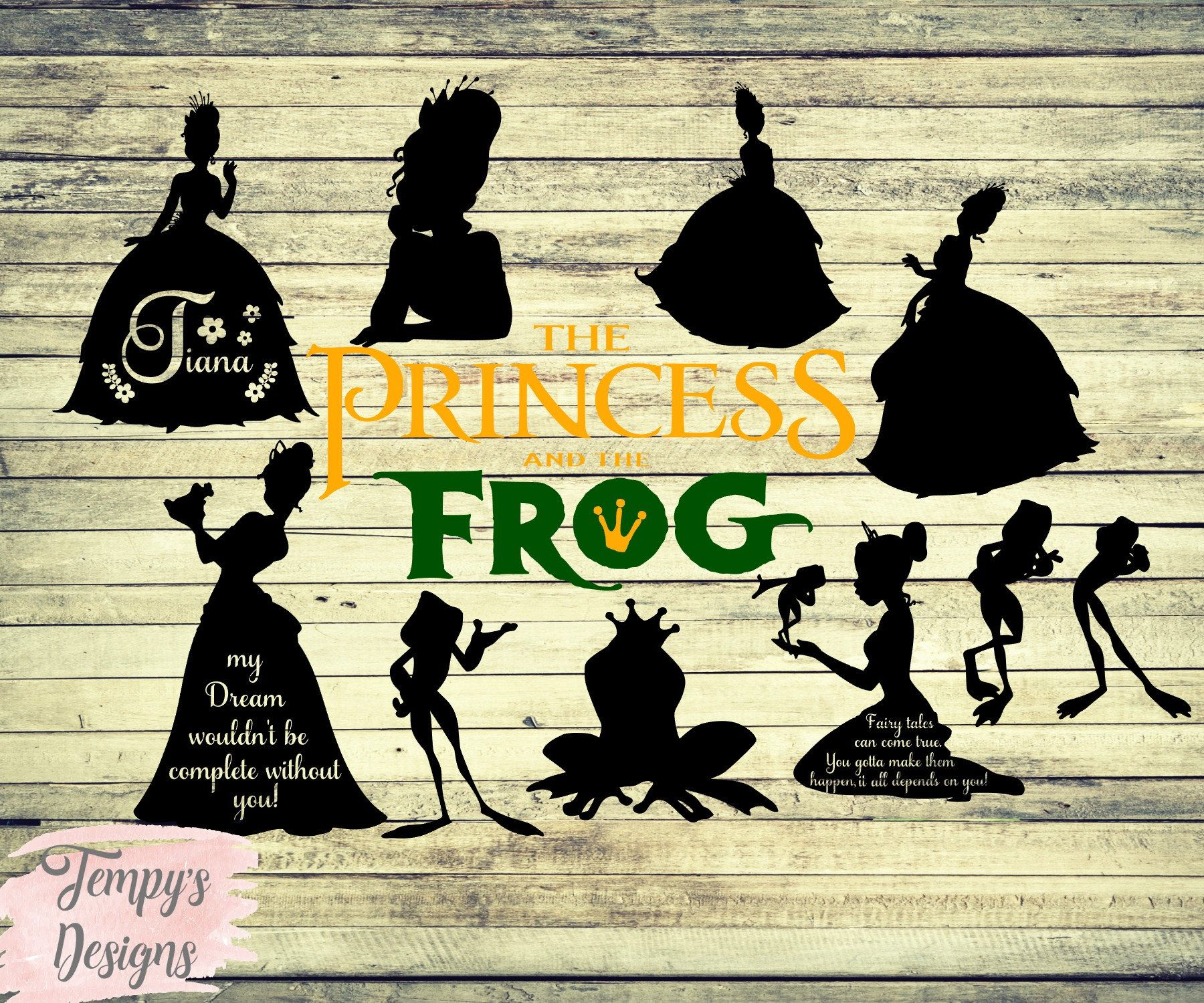 Crafts image by CreativeLeighs Tiana disney, Family
