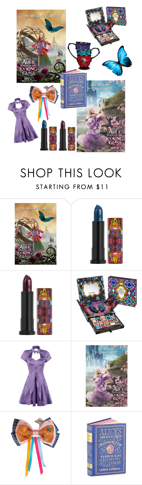 """Madness🔮🔮🔮"" by flytolive ❤ liked on Polyvore featuring Urban Decay and Disney"