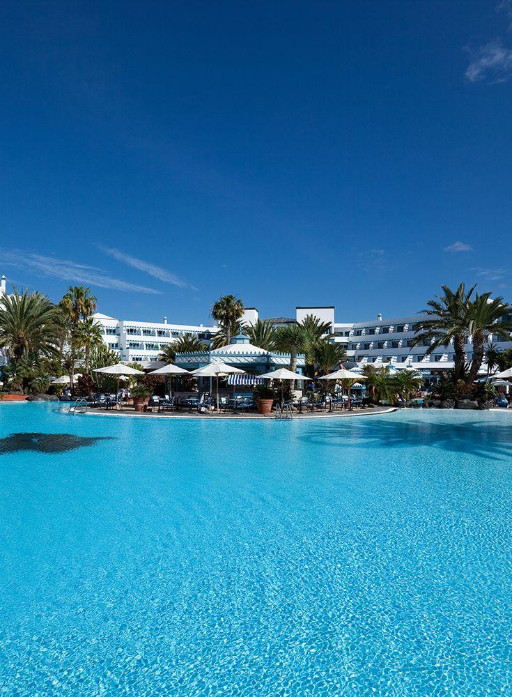 Hotel Seaside Los Jameos Playa**** Pool area #seehorse #