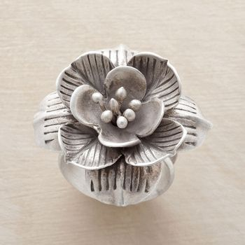 Lotus In Bloom Ring in Spring Jewelry 2013 from Sundance on shop.CatalogSpree.com, my personal digital mall.