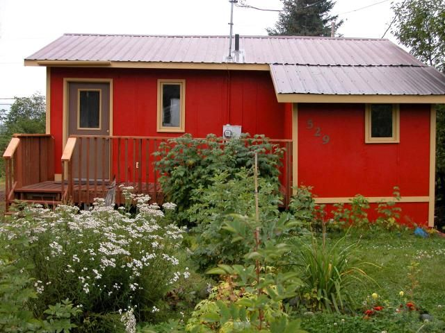 Cozy Little Red House In Alaska Favorite Tiny Houses