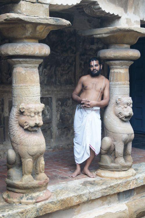 Brahmana from Vaikuntha Perumal temple, Kanchipuram