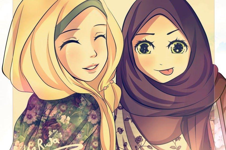 Terpopuler 30 Gambar Kartun Muslimah Bersahabat 5 Orang 43 Gambar Kartun Muslimah Berhijab Lucu Dan Menggemaskan Download Gambar Kartun Kartun Kartun Lucu