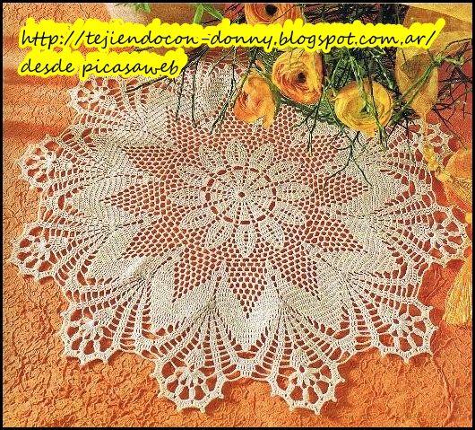 Crochet ganchillo tejidos de patrones esquemas gr ficos - Trabajos manuales de ganchillo ...