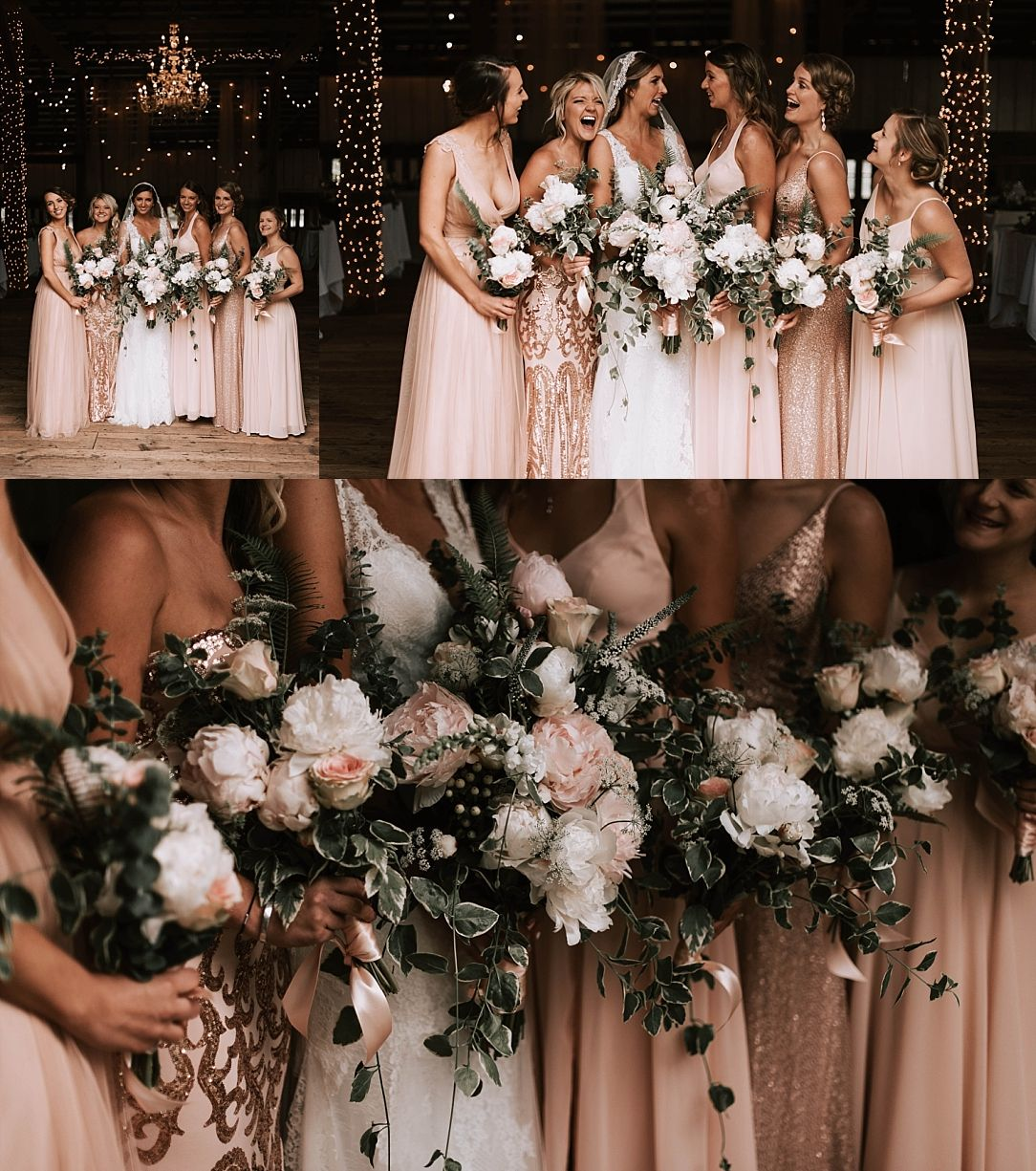 Rose Wedding Ideas: Spring Rustic Rose Gold Wedding In 2019