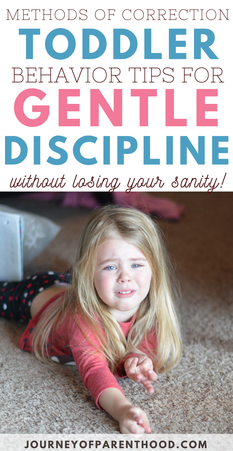 Methods of Correction Toddler Behavior Tips for Gentle Discipline (Without Losing Your Sanity!)