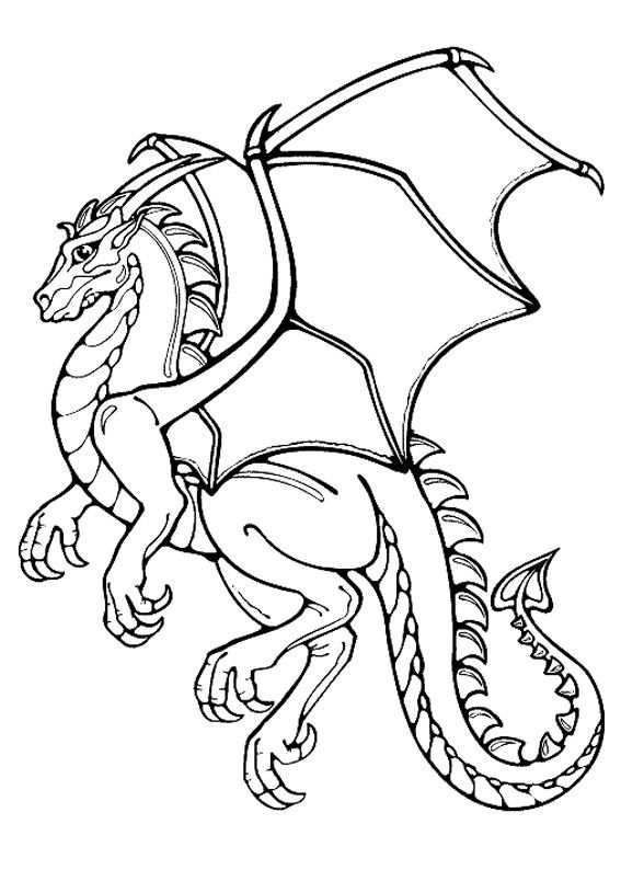 Disegni Da Colorare Draghi.30 Disegni Di Draghi Da Colorare Disegni Drago Libri Da Colorare Illustrazione Drago