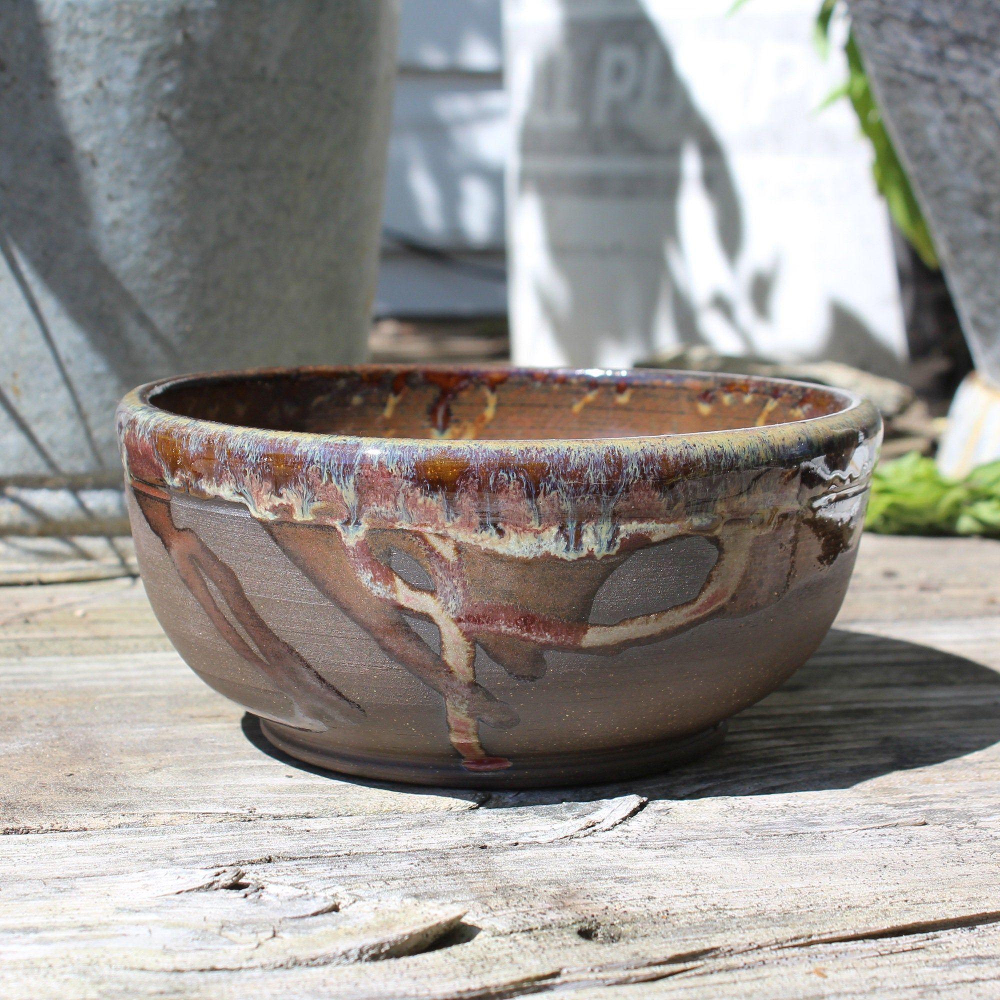 Moss And Lichen Handmade Ceramic Bowl Ceramic Bowls Ceramics Decorative Bowls