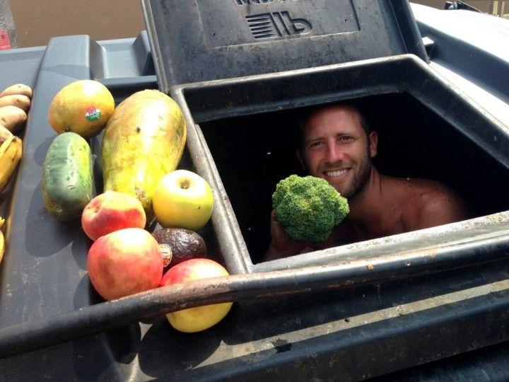 Dumpster Diving Across America Food Waste Dumpster Diving Food