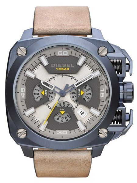 f6ba8964b865 Diesel Hombre Reloj de pulsera bamf Cronógrafo Cuarzo Piel. Relógio DIESEL  BAMF - DZ7342