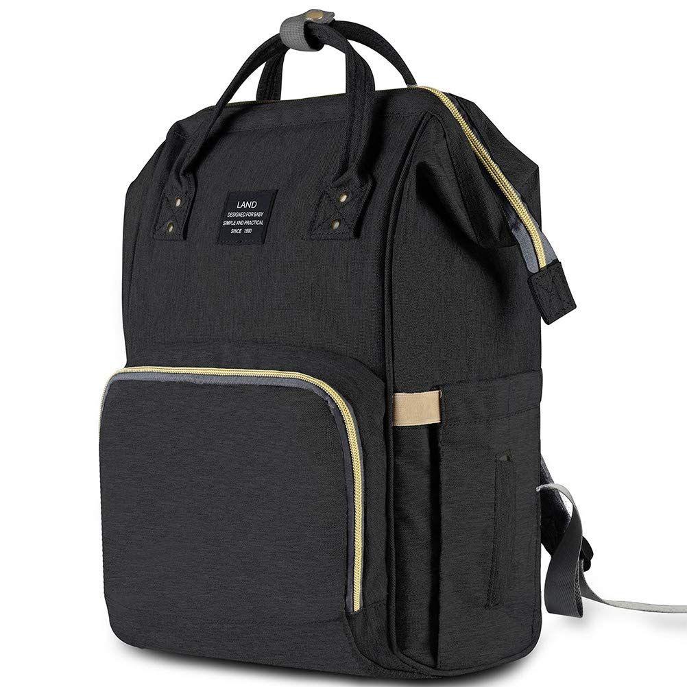 HaloVa Diaper Bag MultiFunction Waterproof Travel