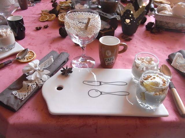 «Café Gourmand» Un thème miam ! | Les Tables d'Okiss©