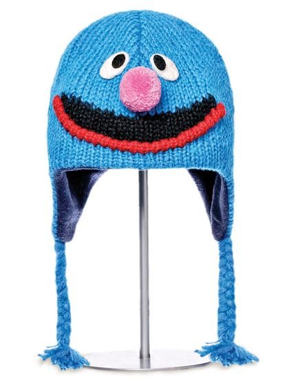 Knitwits Grover Pilot Hat Hats Ear Hats Ear Flap