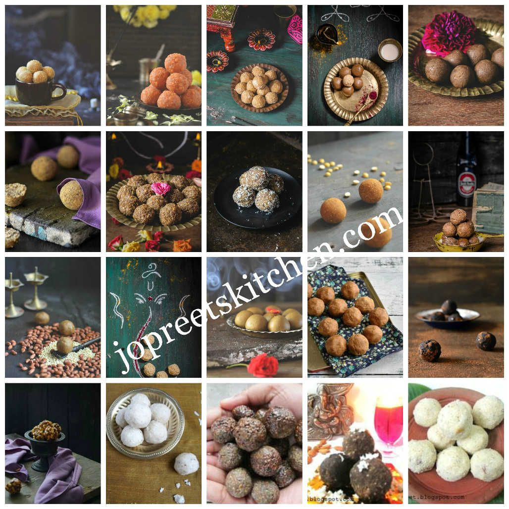 Collection of 20 ladoo recipes indian festival sweet recipes food forumfinder Gallery
