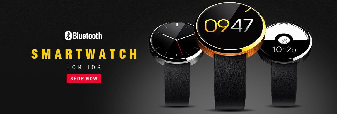 DM360 Heart Rate Monitor Tracker Bluetooth Smartwatch For IOS