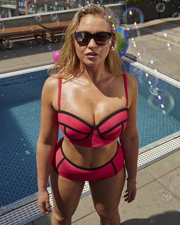 Iskra Lawrence puts the bae in bathing suit   MySwimBodyIskra Lawrence puts the bae in bathing suit   MySwimBody   Summer  . Disability Bathing Suit. Home Design Ideas