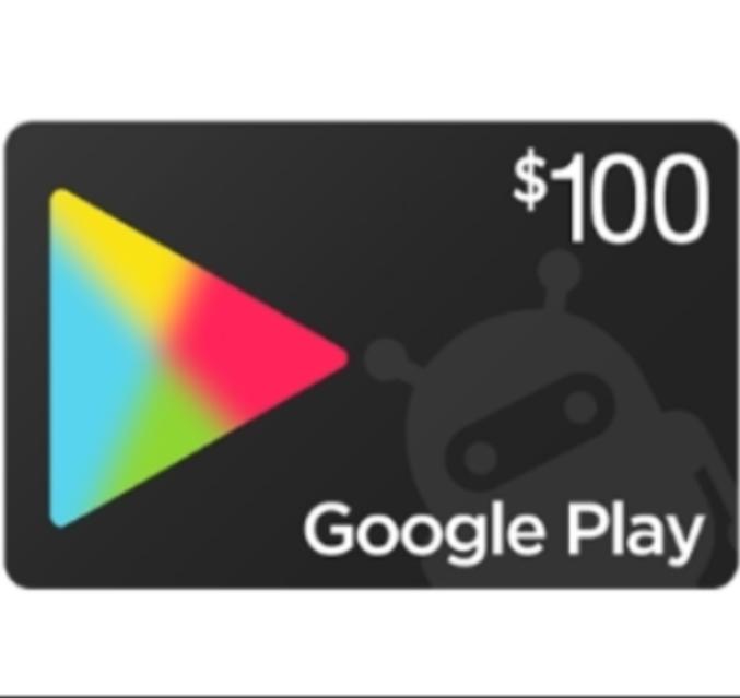 Get A 100 Google Play Gift Card Google Play Gift Card Redeem Gift Card Get Gift Cards