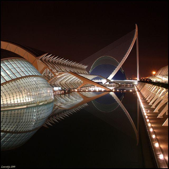 The City Of Arts And Sciences Architecture Unique Architecture Valencia