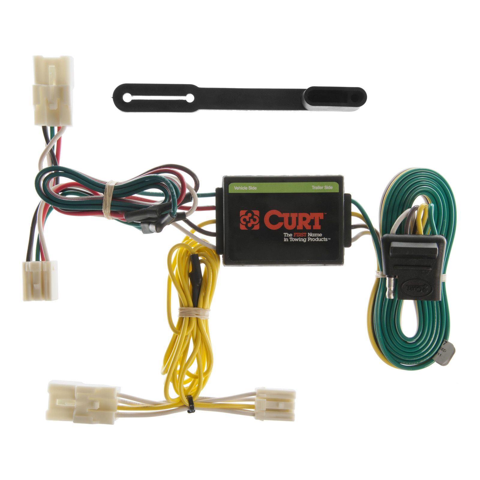 Curt Custom Vehicle To Trailer Wiring Harness 55307 For 2001 2005 Toyota Rav4