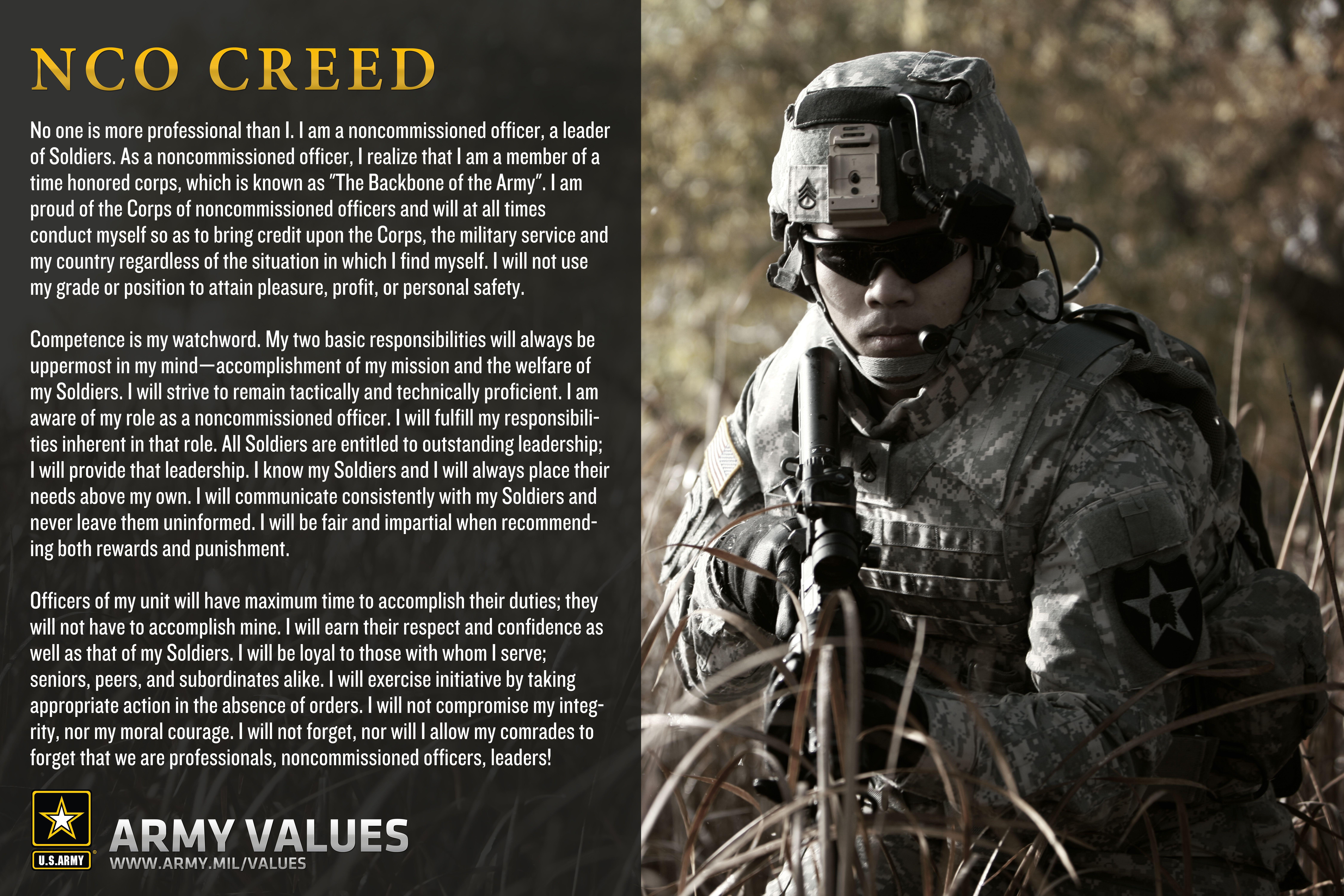 essay on army values Army Values