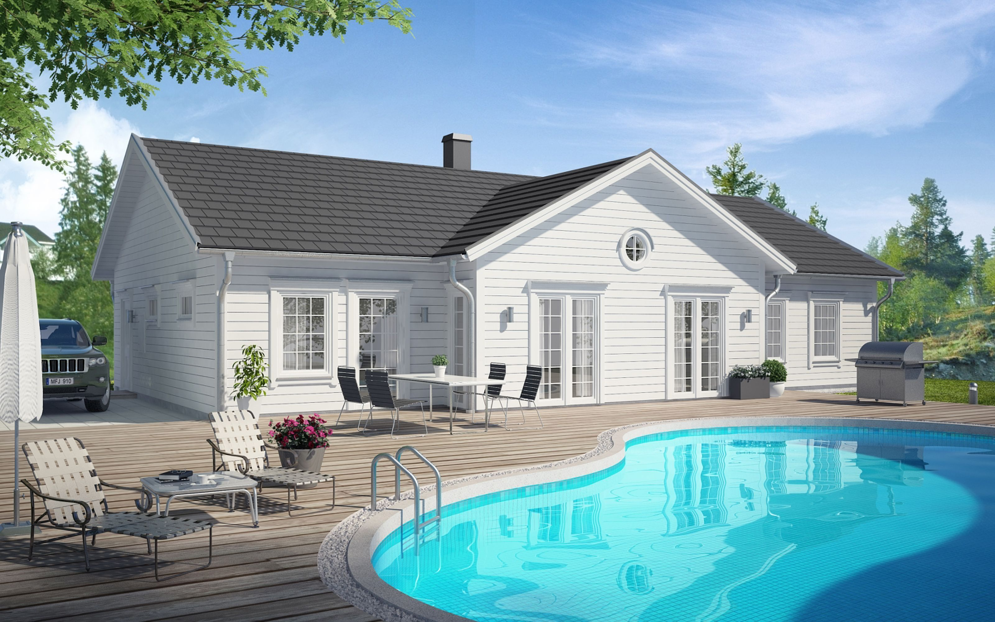 Villas, Master bedrooms and Barns on Pinterest