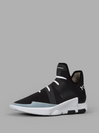 16e4c92a6 Y-3 Y-3 MEN S BLACK SNEAKERS.  y-3  shoes  sneakers