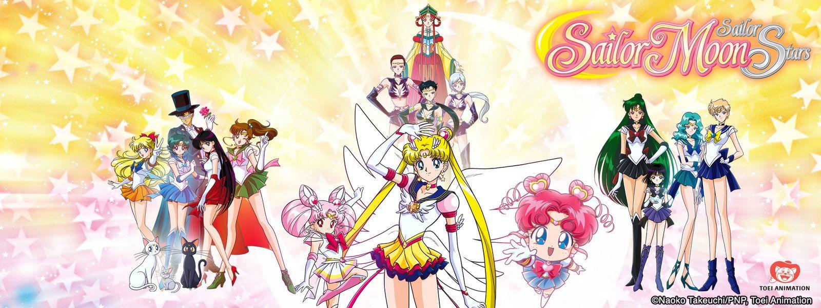 Sailor Moon Sailor moon, Sailor moon stars, I love anime