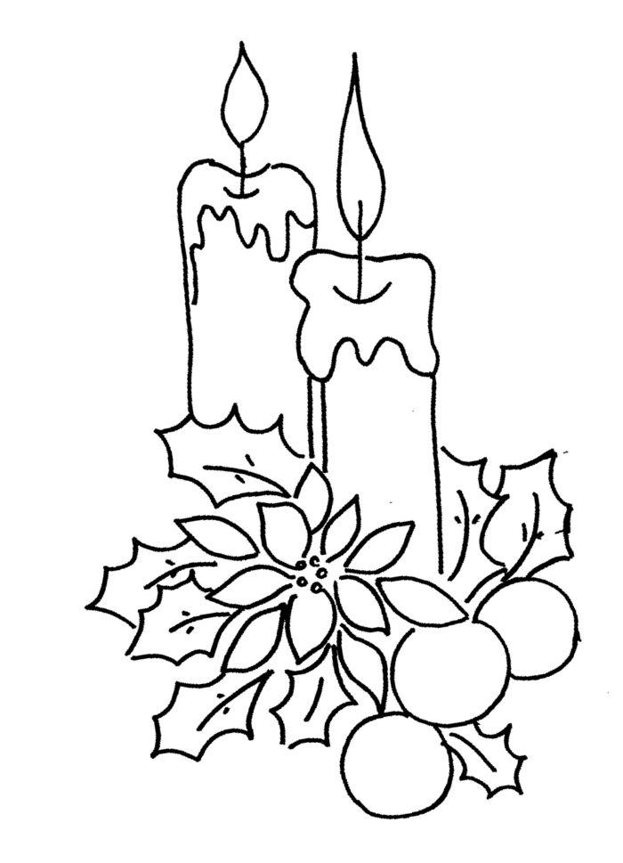 Ideas De Dibujos De Navidad.1001 Ideas De Dibujos Navidenos Para Colorear Navidad