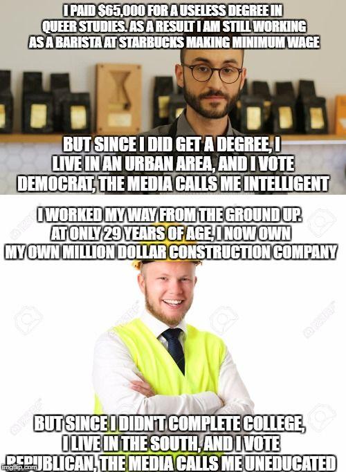 Image tagged in memes,biased media,liberal media,liberal ...
