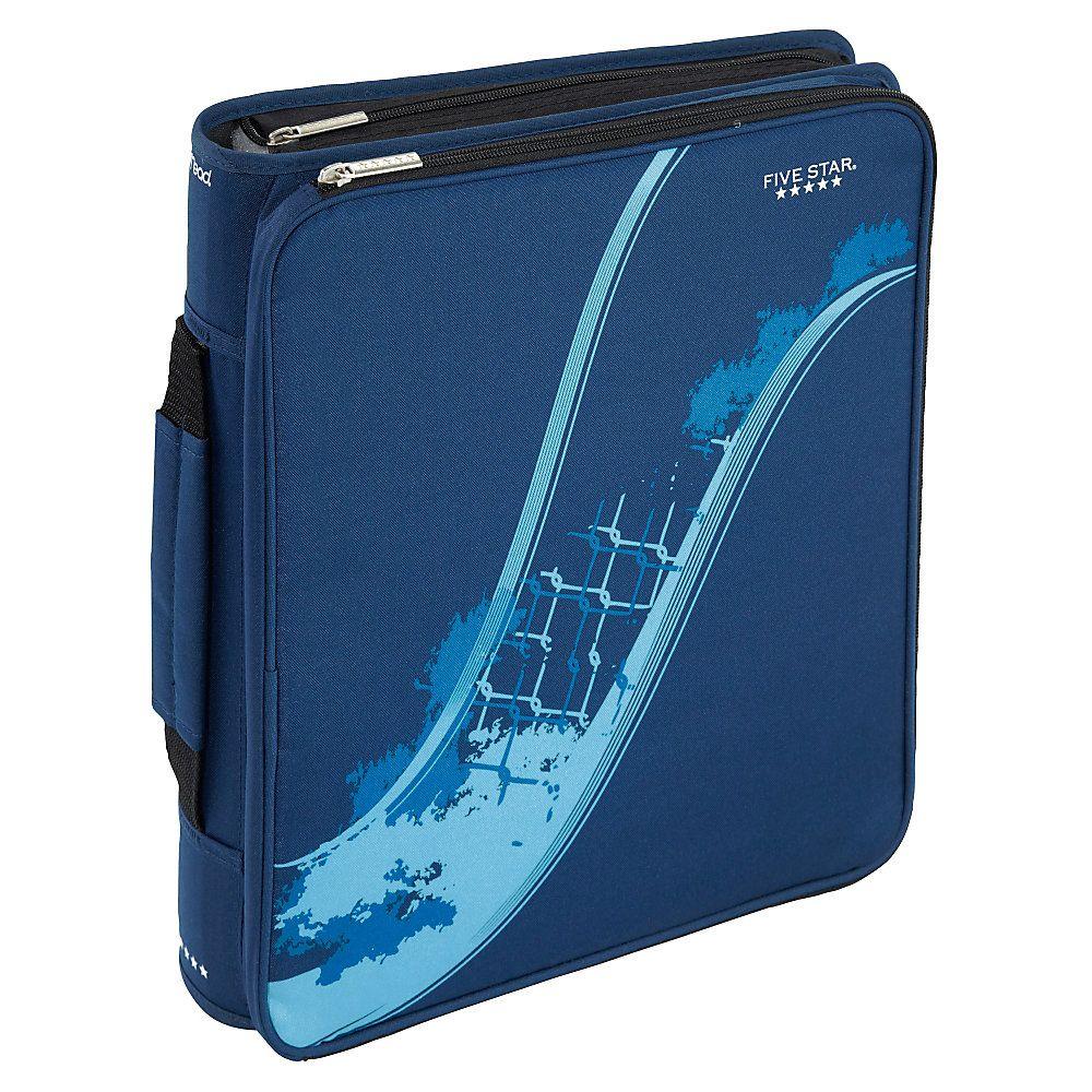 """Five Star® Multi-Access Zipper Binder, 8 1/2"""" X 11"""", 2"""