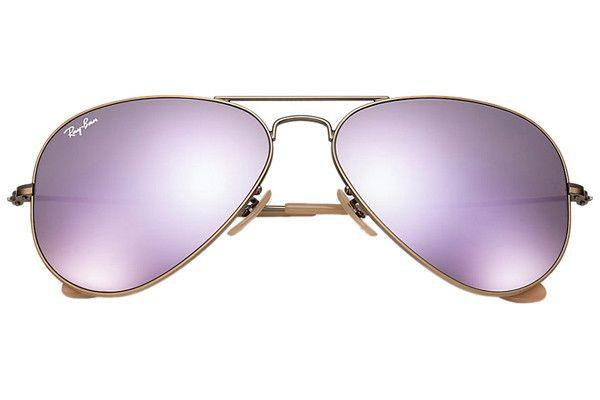 8288c609a4 Ray-Ban Aviator Flash Lenses RB3025 167 4K Sluneční brýle Hnědá   2.981 Kč