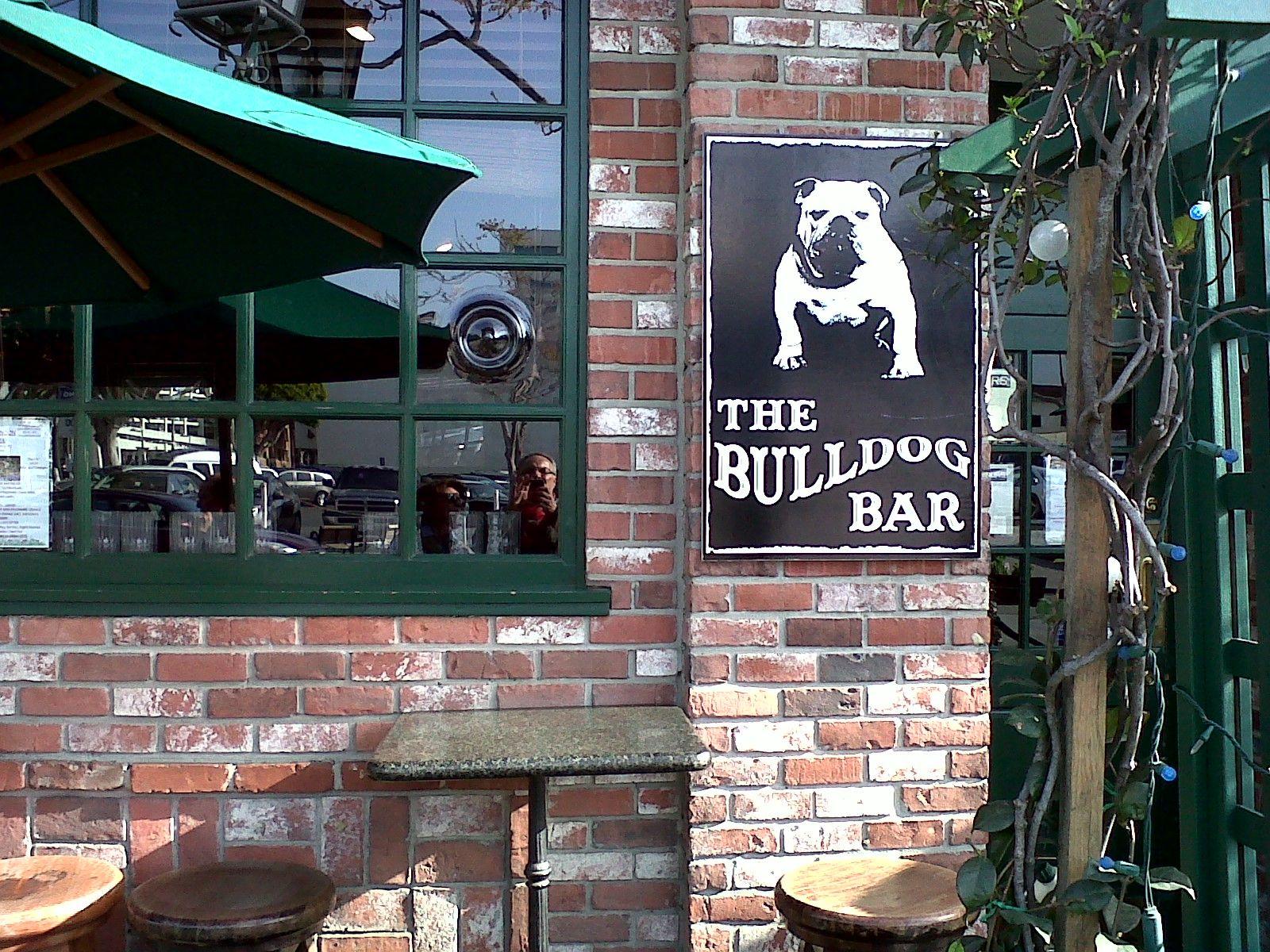Bulldog bar santa monica ca